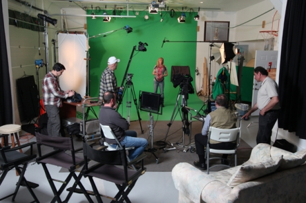video production in st louis | green screen studio